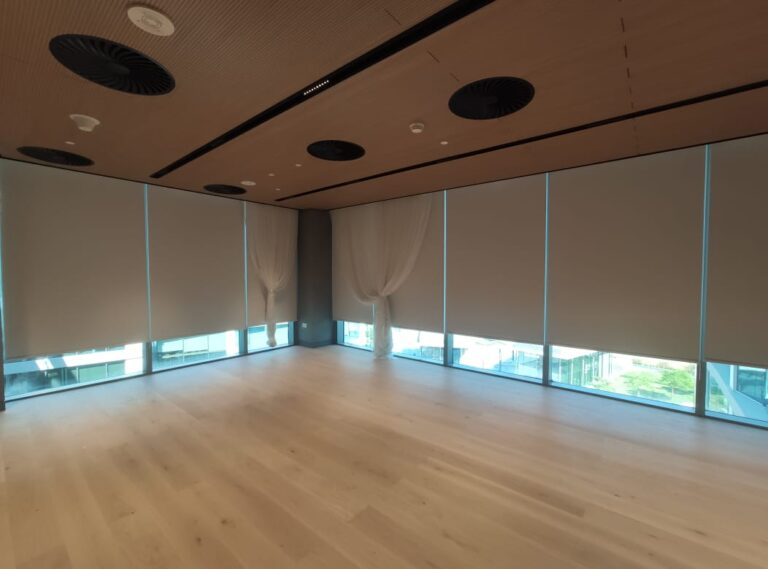 Roller blinds for window coverings